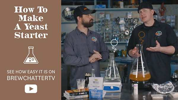 How to make a yeast starter with BrewChatter on YouTube BrewChatterTV