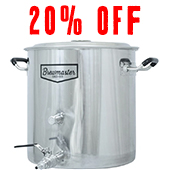 Brew kettle for Home Brewing