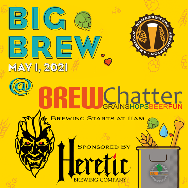 Big Brew at BrewChatter May 1st!